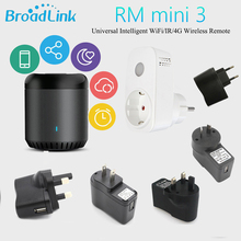 Broadlink Smart Home Original RMMini3 WiFi+IR+4G Remote Control AU UK US EU Plug Wireless Controller Work for Alexa Google Home