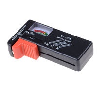 1pc Battery Tester Universal Electronic Battery Checker For AA AAA 9V Button Cell Multi Size Volt Meter Measuring Tools