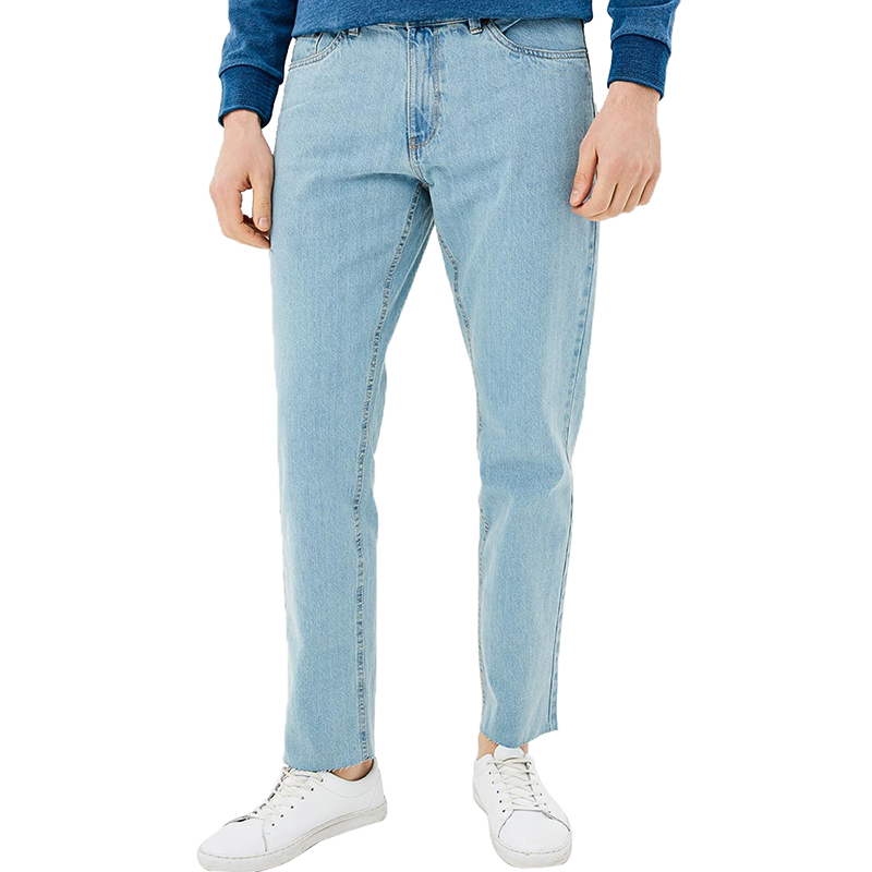 Jeans MODIS M181D00295 men for pants male clothes apparel for male TmallFS 2017 new fashion men s distressed jeans with holes acid washed vintage casual denim pants ripped patch jeans for men size 28 40