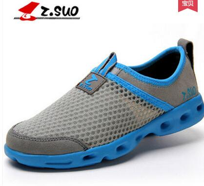 Z suo men s summer popular fashion breathable net shoes ZSUO male bird nest casual sandals
