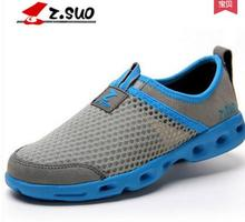 Z.suo men's summer popular fashion breathable net shoes ,ZSUO male bird nest casual sandals , ZS599W(China)