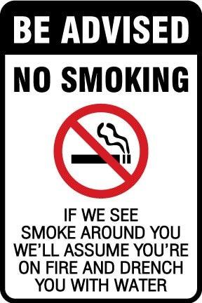 Курение, 4x6 дюймов, самоклеющаяся этикетка наклейка, код товара PL12