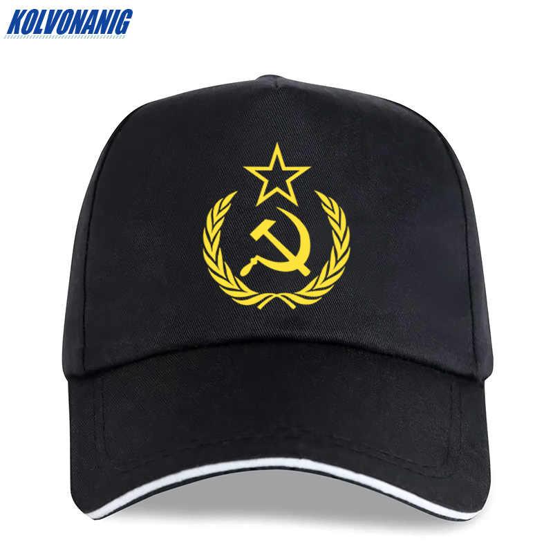 2019 männer Trucker Caps CCCP UDSSR Russische Sowjet Rot Armee Emblem Drucken Baseball Cap Unisex Baumwolle Hysterese Hohe Qualität dad Hüte