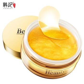 Beauty Collagen Eye Mask Patch Anti Cernes Whitening Dark Circles Eyes Black Gold Pads Skin Care