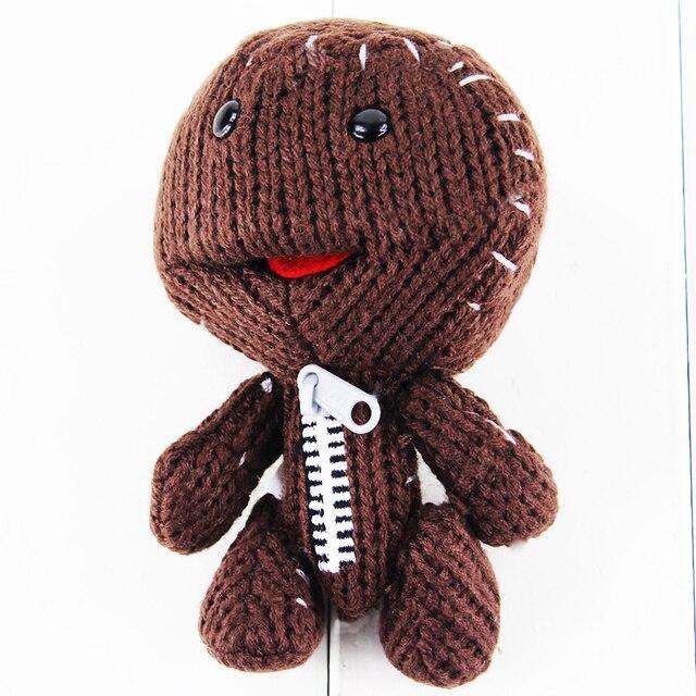 13cm Little Big Planet Plush Toy Sackboy Cuddly Knitted Stuffed Doll