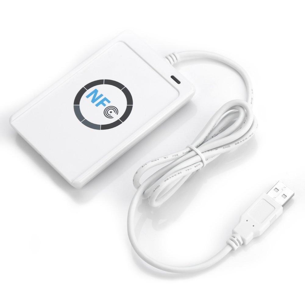 NFC ACR122U Contactless Smart Reader & Writer + SDK + 5pcs Mifare IC Card evolis securion mag smart contactless