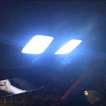 Для KIA RIO K2 2006-2014/hyundai Solaris Verna автомобилей Лампы для Чтения Купол лампы светодио дный подкладке Singal огни белый