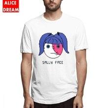 T shirt Boy Sally Face Pixel Art Shirt Soft Round Collar Free Shipping Tshirt 3D Print Tees Casual New Arrival