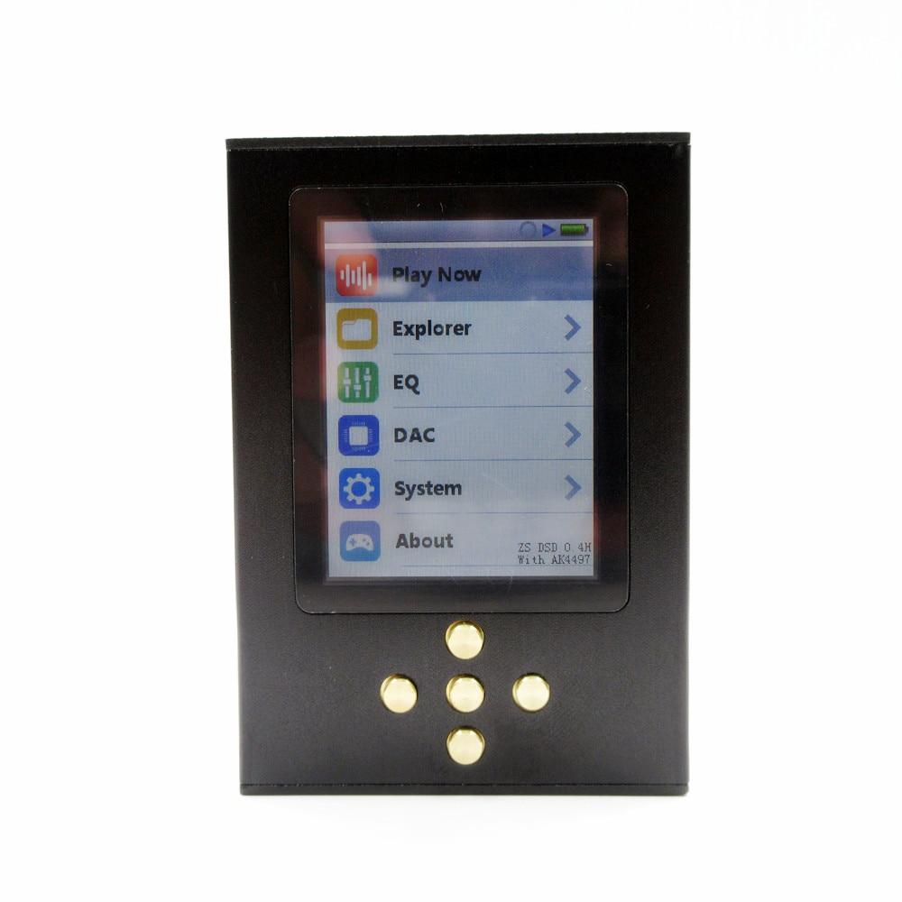 Upgrade Version DIY Zishan DSD Professional Lossless Music MP3 HIFI fever portable lossless music player AK4497EQ Hard Solution цена