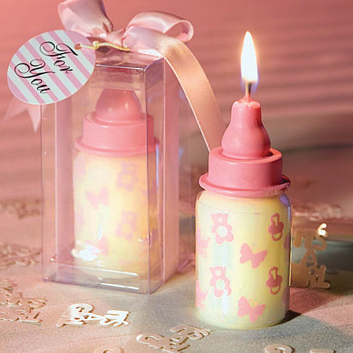 Creative Scented Birthday Weddings Candles Baby Feeding Bottle Flameless Candles Cake Children Gifts Birthday Decoration Candle