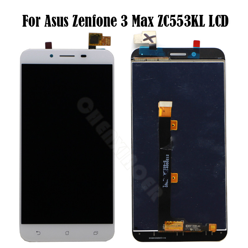"For 5.5"" Asus Zenfone 3 Max ZC553KL LCD Display Touch Screen Digitizer Assembly Zenfone3 MAX Replacement For ASUS ZC553KL LCD"