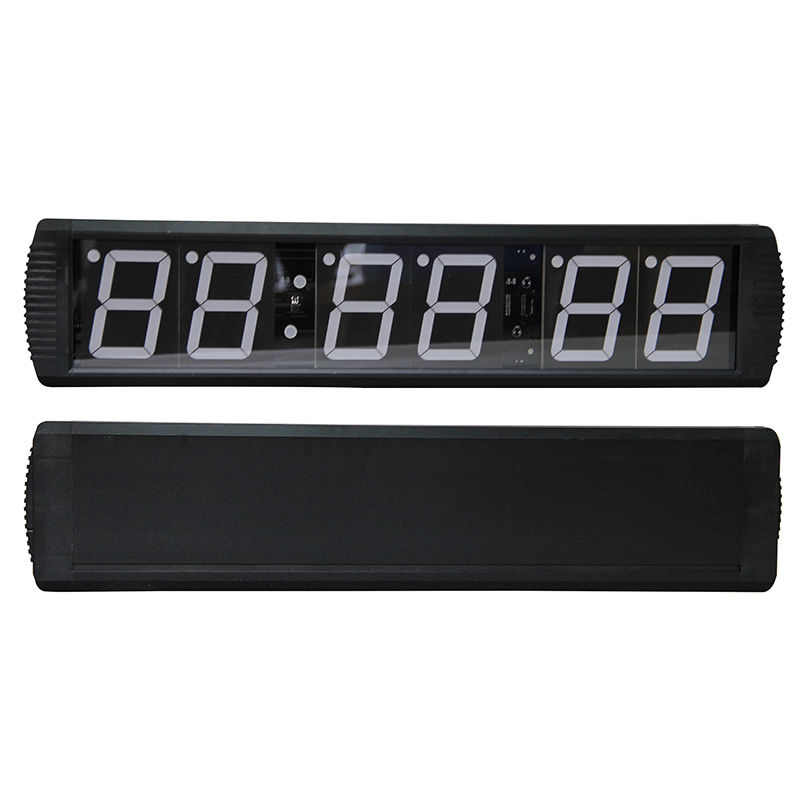цена на 6-Digit LED GYM Crossfit Timer Stopwatch Interval Gym Boxing Wall Timer & Remote Countdown Count up