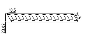 Image 4 - 5 medidores inclinados niquelado tira de aço para 18650 bateria