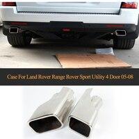 Auto Suggerimenti di Scarico per Land Rover Range Rover Sport Utility 4 Porte 2005-2008 Auto Tubi di Scarico Auto silenziatori Caso Trim