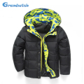 Grandwish Winter Hooded Jacket for Boys Kids Printed Thick Down Warm Coat Boys Jacket Girls Outerwear Clothes 6T-12T, SC364