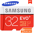 SAMSUNG Micro SD 256 ГБ 128 ГБ 64 ГБ 32 ГБ 16 ГБ EVO Плюс MicroSD Карты Макс 80 М/с C10 Карты памяти SDHC SDXC TF Trans Flash Микро Карты