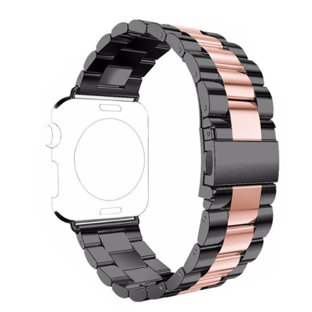 CRESTED link bracelet For Apple Watch band Strap 38mm 42mm iwatch series 3 2 1 Stainless Steel wrist band replacement metal belt stainless steel strap for apple watch band 38mm 42mm iwatch series 3 2 1 sport wrist band link bracelet for apple watch band
