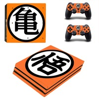 PS4 Pro Skin Sticker DRAGON BALL Decal For Playstation 4 Pro Console + Controllers
