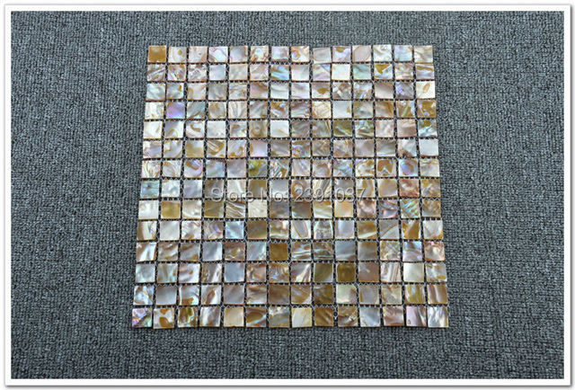 High Quality 1 Box 11sheet Shell Mosaic Tile Luster Mother Of Pearl Tiles Backsplash