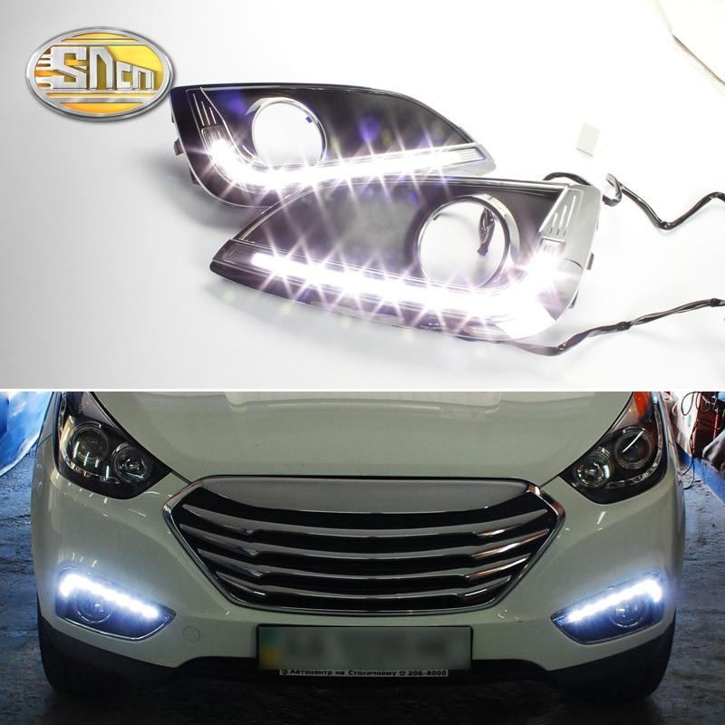 Za Hyundai IX35 2010 2011 2012 2013 LED dnevna svjetla Poklopac za - Svjetla automobila - Foto 1