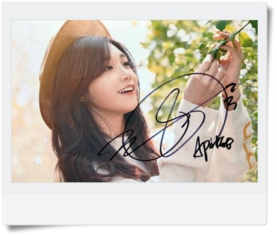 signed APINK Jeong Eun Ji  autographed  original photo 6  inches  6 Versions freeshipping  082017A signed tfboys jackson autographed photo 6 inches freeshipping 6 versions 082017 c