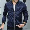 Baratos por atacado 2016 new Young idade temporada impresso blazer jaqueta masculina fina modelo