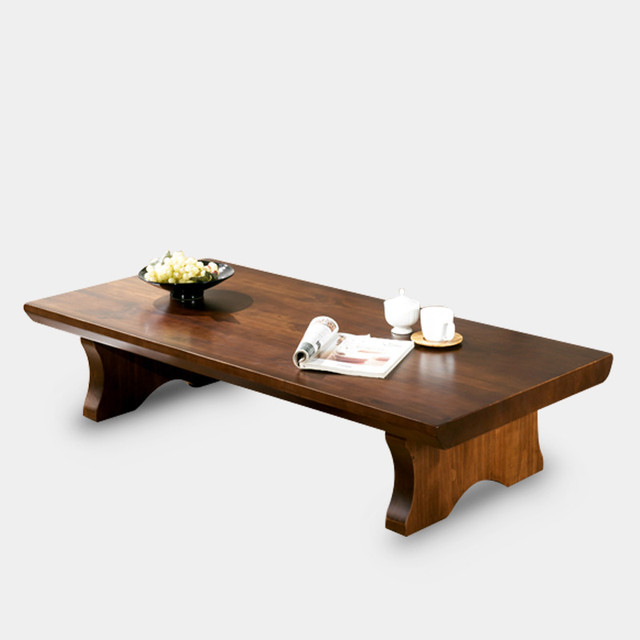 Modern Nature Wood Table Rectangle 130*65cm Living Room Furniture Asian Low  Wooden Coffee Table
