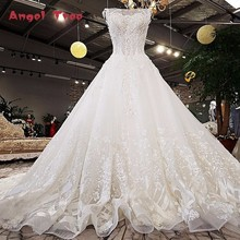 Vintage Style Beaded Wedding Dress