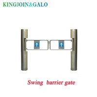 Barreira dupla do balanço para o controle de acesso