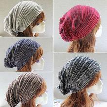 Knit Winter Women Men Beanie Hat Oversize Slouchy Baggy Unis