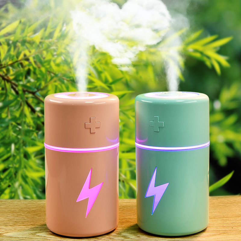 120ML Mini Humidifier With Aroma Lamp Essential Oil Ultrasonic Electric Air Diffuser Mini USB Air Humidifier Mist Maker Fogger