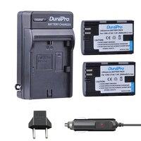 2pc LP E6 LP E6 LPE6 LP E6N 2000mAh Rechargeable Li Ion Battery Car Charger EU