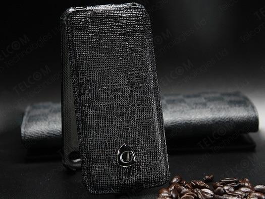 Funda para iPhone SE 5S 5 Funda de cuero genuino de lujo vintage con - Accesorios y repuestos para celulares - foto 3