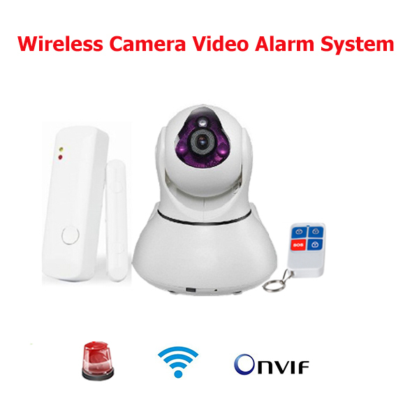 Wireless Camera Video Alarm System IP Camera Wifi 720P Smart Security Camera Network Pan Tilt Alarm Home Smart Security Alarm mini wifi 720p smart ip camera home security system