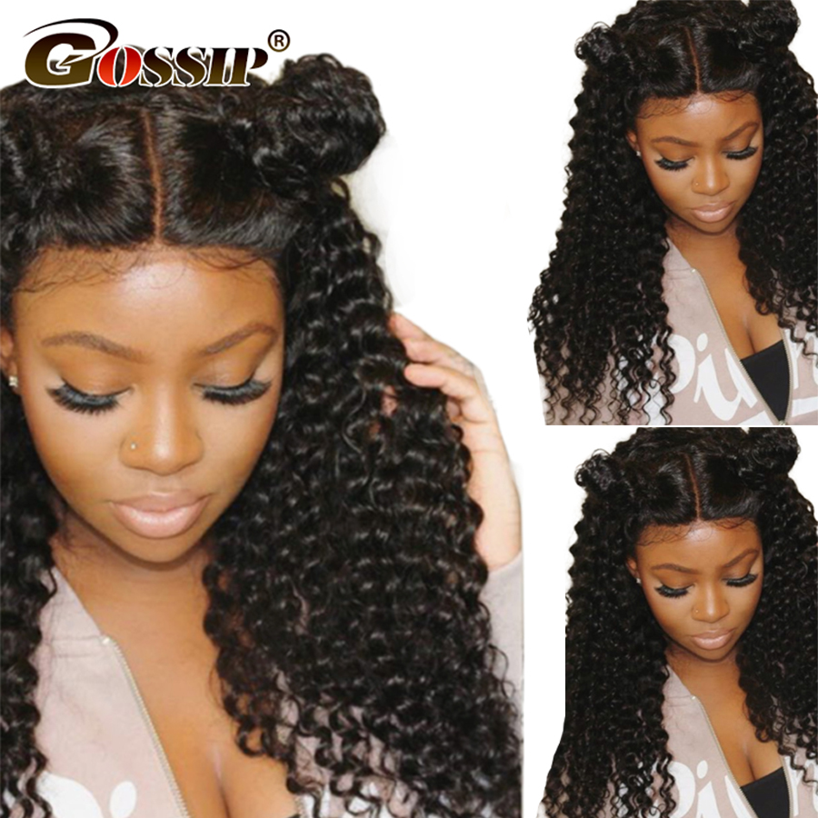 13x6 Lace Front Wig With Baby Hair Brazilian Human Hair Wigs For Black Women RemyHair Kinky