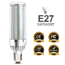 LED E27 Corn Bulb 50W 35W 25W LED Lamp 110V 220V LED Bulb E39 E40 Big Power For Outdoor Square Playground Warehouse Lighting