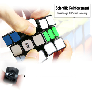 Image 4 - Qiyi Chuyên Nghiệp Cube 3X3X3 5.7 Cm Tốc Độ Cho Antistress Xếp Hình Neo CUBO Magico Miếng Dán Kính Cường Lực Cho Trẻ Em người Lớn Đồ Chơi Giáo Dục