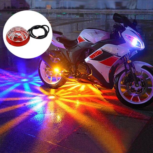 okeen led auxiliaire moto ch ssis tail couleur light led laser feux de brouillard feu arri re. Black Bedroom Furniture Sets. Home Design Ideas