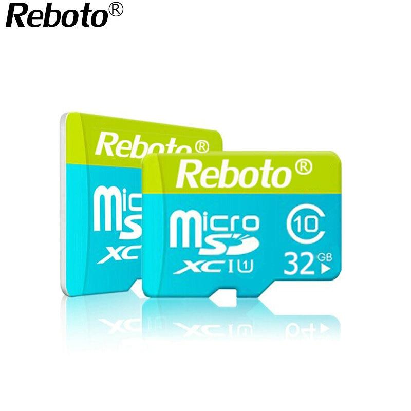 Reboto high quality Micro sd card 64GB memory card 32GB class6 mini sd card TF Card 4GB 8GB 16GB class10 microsd