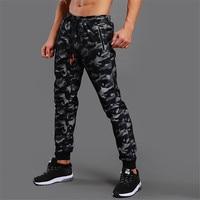 2019 Новый высокое качество Jogger камуфляж спортивные брюки Для мужчин Фитнес Бодибилдинг Спортзал Штаны одежда для бега пот Штаны