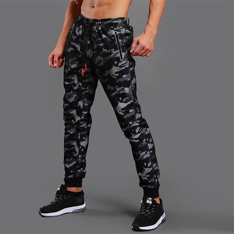2019 neue Hohe Qualität Jogger Camouflage Turnhallen Hosen Männer Fitness Bodybuilding Fitness-Studios Hosen Läufer Kleidung Jogginghose