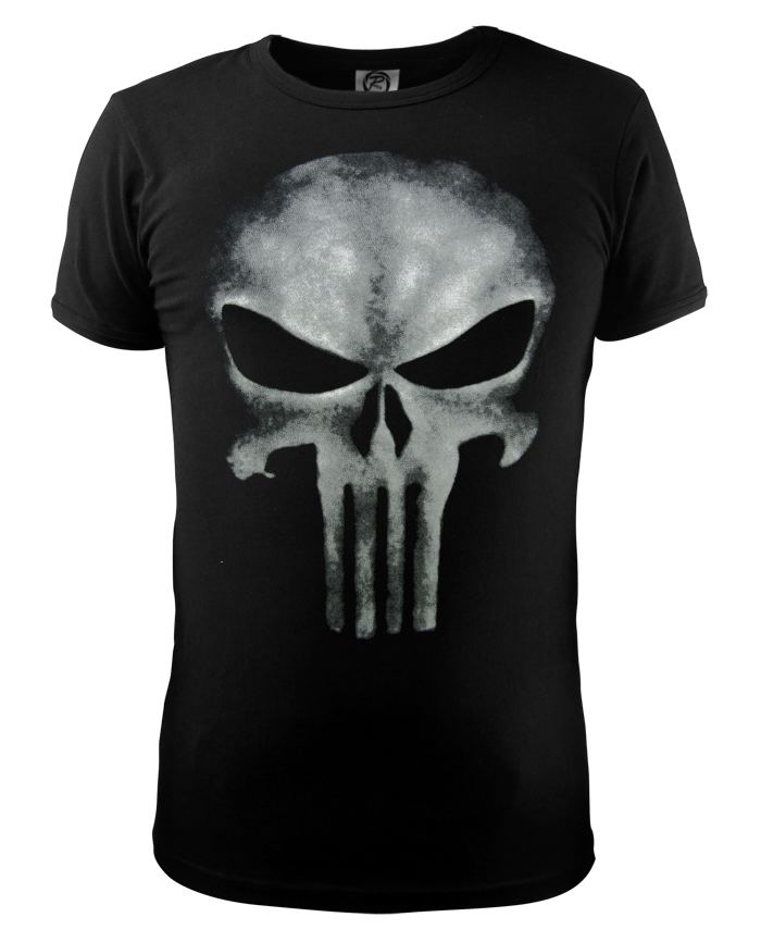 Cool style the punisher skull t shirt the punisher black for Best no iron shirts