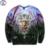 Mr.1991 marca 12-18 años niños grandes muchachos sudadera 3D Fantástico Bosque impreso sudaderas con capucha chicas de moda juvenil jogger sportwear W23