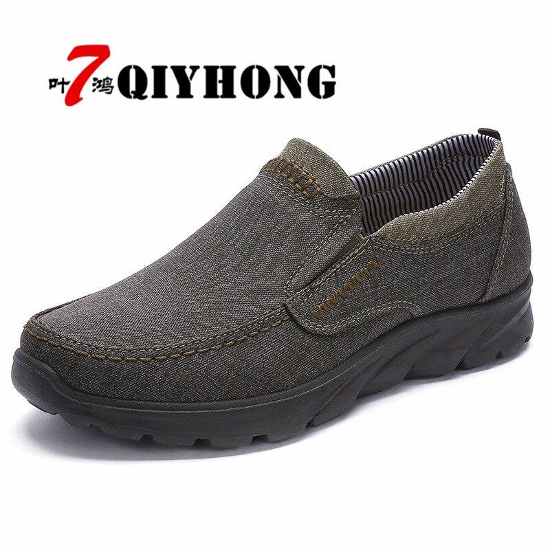 Otoño de los hombres de lujo zapatos 38-48 cómodo de los hombres zapatos casuales zapatos de lona Zapatos transpirables mocasines Slip-en calzado slipon caminando