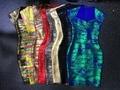 Atacado 2016 vestido novo multiple Colour Estiramento apertado High-end de luxo vestido de festa Cocktail Bandage (L1188)