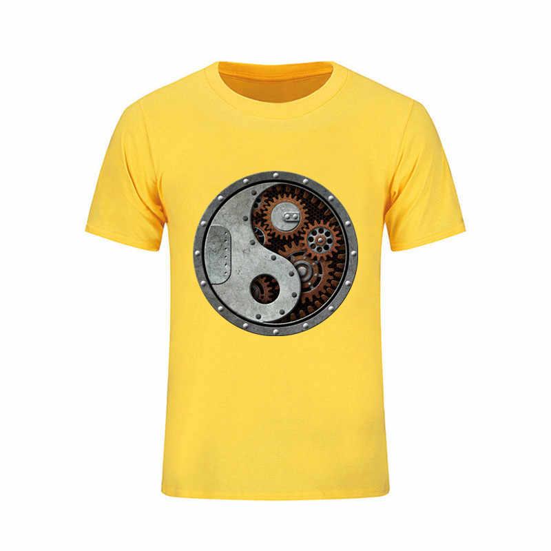 773c470d ... Steampunk T Shirt Random Men's T-shirt Cotton Crewneck Big Size Short  Sleeve Boxinger Male ...