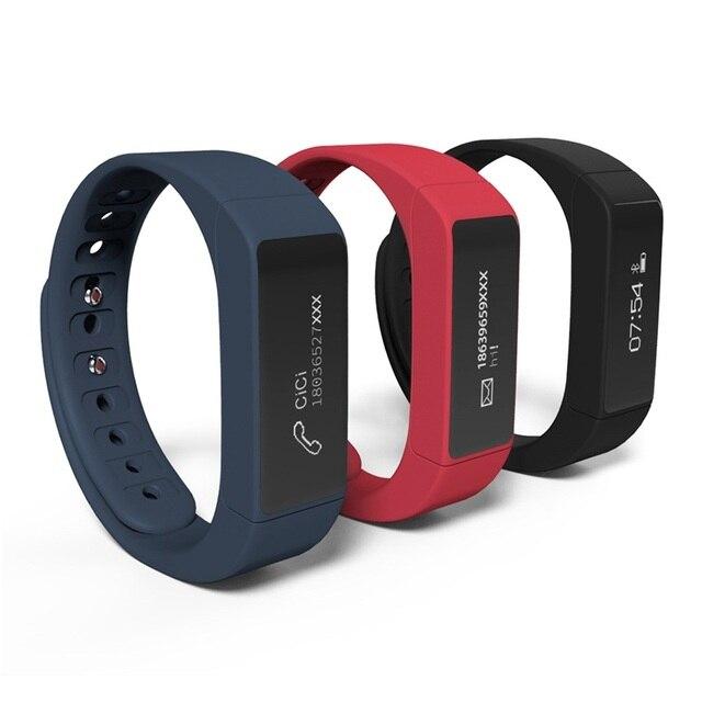 SmartWatch Браслет I5Plus Smart watch Bluetooth 4.0 band Водонепроницаемый Сенсорный Экран Фитнес-Трекер Здоровья Браслет Сна Монитора
