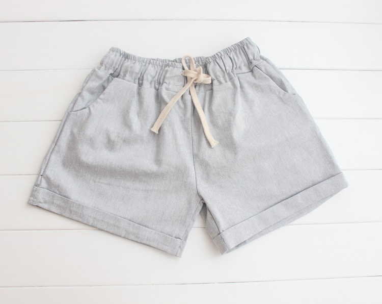 Summer Style Shorts Women Candy Color Elastic With Belt Short Women 53