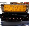 Originale Dell'automobile Auto USB di Sostegno, Bluetooth Display giallo monitor Lcd 12 pin per Peugeot 307 407 408 Per citroen C4 C5
