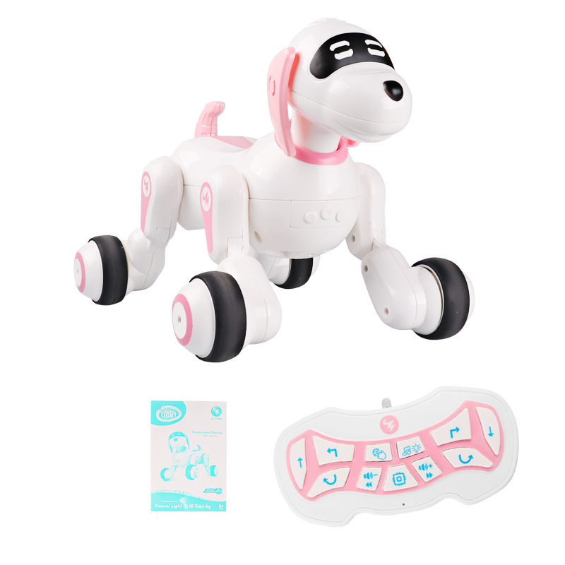 Remote Control Smart Robot Dog Toy Touch Senor Talking Robot Interactive Puppy Toys Cute Animal RC Electronic Pet for Kids